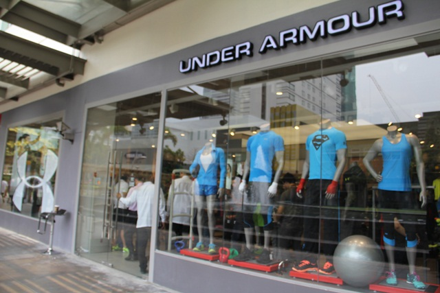 Globally, Under Armour currently operates owned factory stores, which sell more affordable workout gear than is normally found at department stores, online and sporting goods retailers.