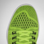 Seamless Flymesh upper pockets enable Flywire cables to be thread closer to foot for dynamic lockdown and breathability and maximum support