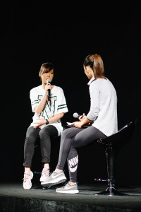 Valerie Ng, Brand Merchandiser from Nike Women SEA, speaks with host Kim Jones on how NIKE designs for HER.