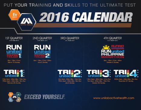 2016 ULAH Calendar