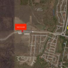 satellite map - race village