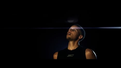 "Video still from ""Flash"", the new campaign by Under Armour, Stephen Curry and Jamie Foxx to highlight Curry's exceptional skills and to launch the Curry Two"