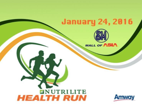 Nutrilite Health RUn 2016 Key Visual