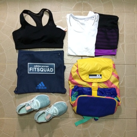 my awesome FitSquad loot!