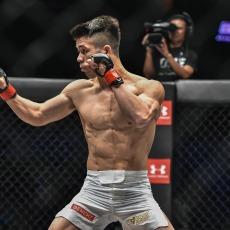 Under Armour Ambassadors & Fil-Am MMA fighters Brandon Vera
